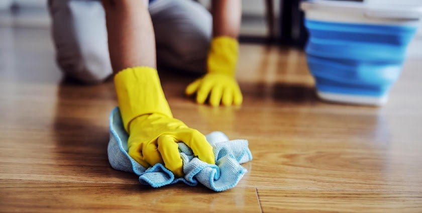 How To: Waxing Parquet Floors